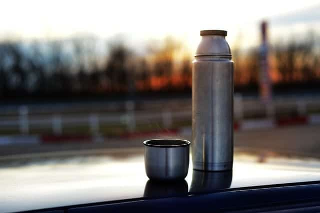 tea thermos with infuser