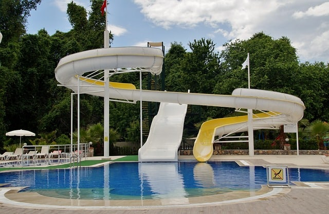 Inflatable Pool Slide for Inground Pools