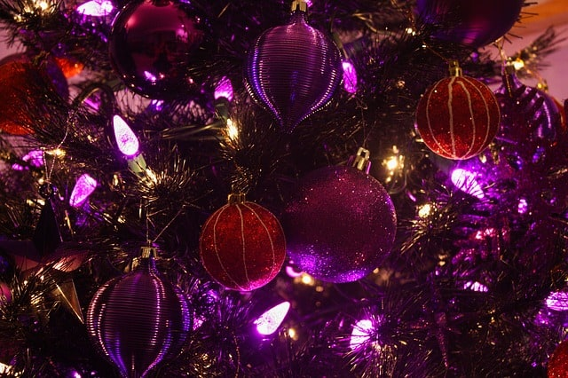 Purple Christmas Theme Ideas